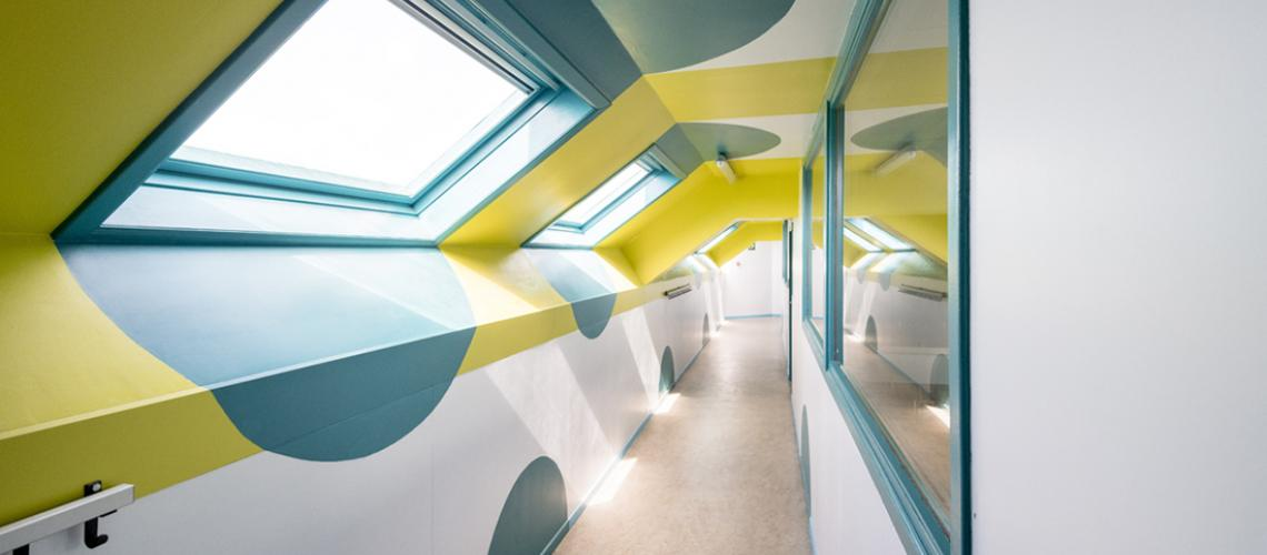 gangen in Mater Dei